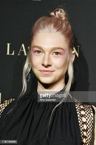 Hunter Schafer arrives at the 2019 ELLE Women In Hollywood at the Beverly Wilshire Four Seasons Hotel on October 14 2019 in Beverly Hills California