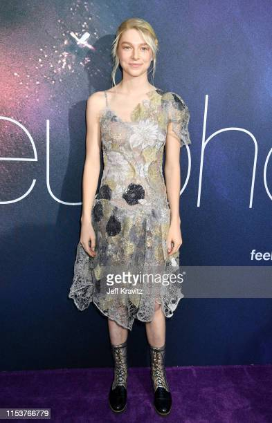Hunter Schafer attends HBO's Euphoria premiere at the Arclight Pacific Theatres' Cinerama Dome on June 04 2019 in Los Angeles California