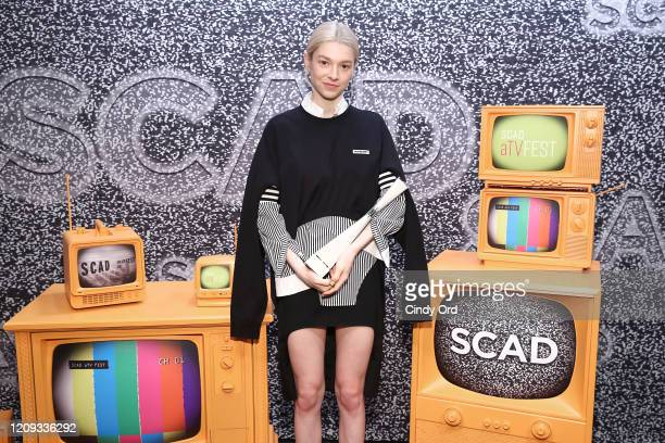 Hunter Schafer attends SCAD aTVfest 2020 In Conversation With Hunter Schafer And Discovery Award Actress Presentation on February 28 2020 in Atlanta...