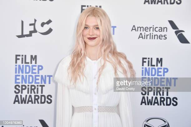 Hunter Schafer attends the 2020 Film Independent Spirit Awards on February 08 2020 in Santa Monica California