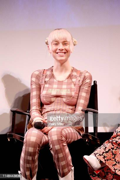 Hunter Schafer attends the premiere of HBO's Euphoria during the ATX Television Festival at the Paramount Theatre on May 6 2019 in Austin Texas