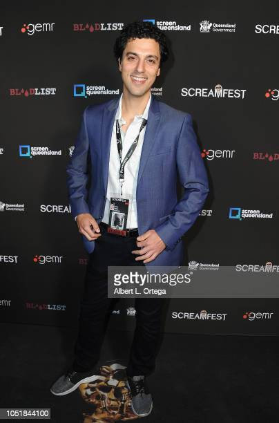 Hunter Stiebel arrives for the Screamfest LA Opening Night Screening Of 'The Amityville Murders' at TCL Chinese 6 Theatres on October 9 2018 in...