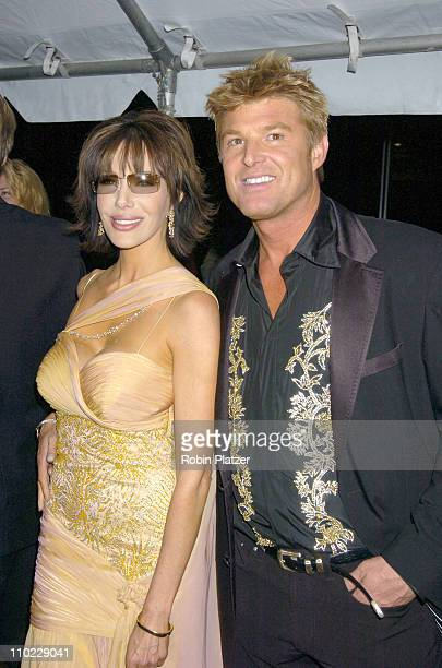 Hunter Tylo and Winsor Harmon during 32nd Annual Daytime Emmy Awards Outside Arrivals at Radio City Music Hall in New York City New York United States