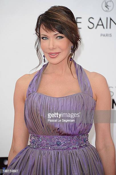 Hunter Tylo arrives at the opening ceremony of the 2012 Monte Carlo Television Festival held at Grimaldi Forum on June 10 2012 in MonteCarlo Monaco