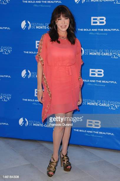 Hunter Tylo attends the 25th Years Anniversary of 'Bold and Beautiful' at Monte Carlo Bay on June 11 2012 in MonteCarlo Monaco