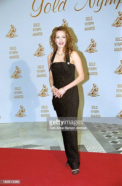 Hunter Tylo during 41st MonteCarlo Television Festival The Gold Nymph Awards at Grimaldi Forum in MonteCarlo Monaco