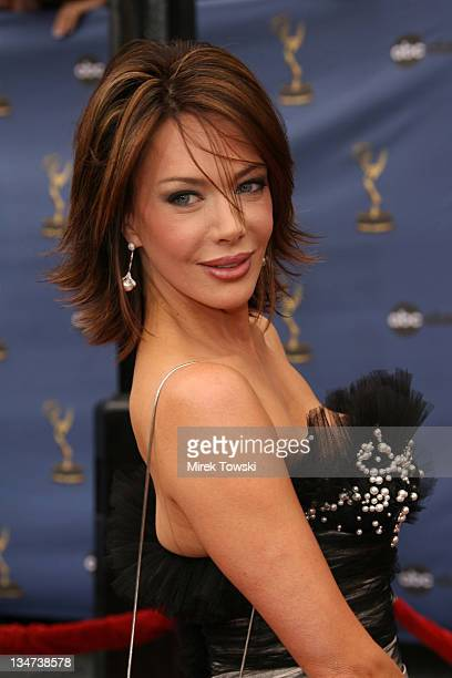 Hunter Tylo during The 33rd Annual Daytime Emmy Awards Arrivals at Hollywood Kodak Theater in Hollywood California United States