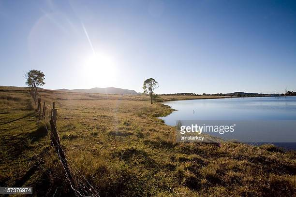 hunter valley rural scenic - new south wales stock pictures, royalty-free photos & images