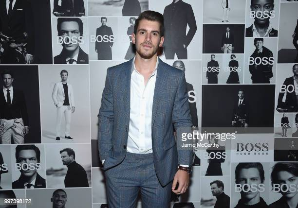 Hunter Vought attends the Champions Wear BOSS on July 12 2018 in New York City