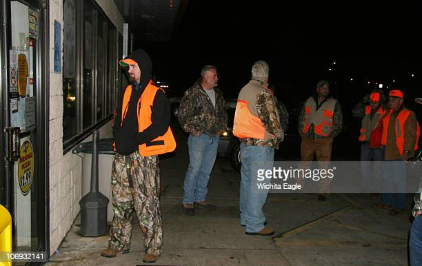 Hunters await the 6 am opening of a gas station in Stafford Opening weekend of pheasant season is a huge financial boost for most or rural central...