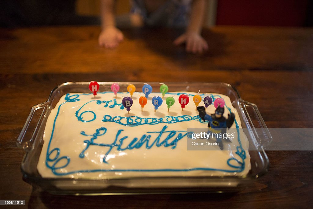 Cake At Hunter Kemps No More Chemo Party Pictures Getty Images