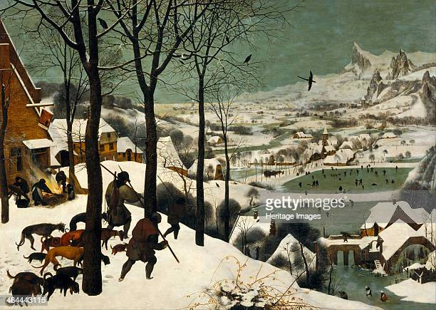 Hunters in the Snow , 1565. Found in the collection of the Art History Museum, Vienne.
