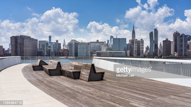 hunters point south - queens, new york - queens new york city stock pictures, royalty-free photos & images
