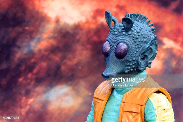 hunting across the stars - jabba the hutt stock pictures, royalty-free photos & images