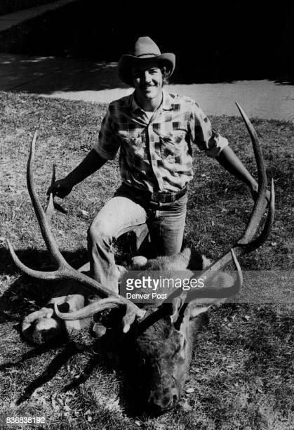 Hunting Animals The Bigger They Are Eighteenyearold Ray Petrum bagged Glendevy Colo with three shots big sixpoint bull elk Oct 13 near from a 270...