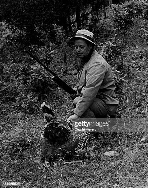OCT 5 1973 OCT 7 1973 Hunting Birds This Bird In The Hands is Worth Plenty George Peak Broomfield retrieves prize from oak brush on Trinidad area...