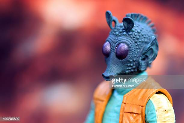 hunting bounty - jabba the hutt stock pictures, royalty-free photos & images