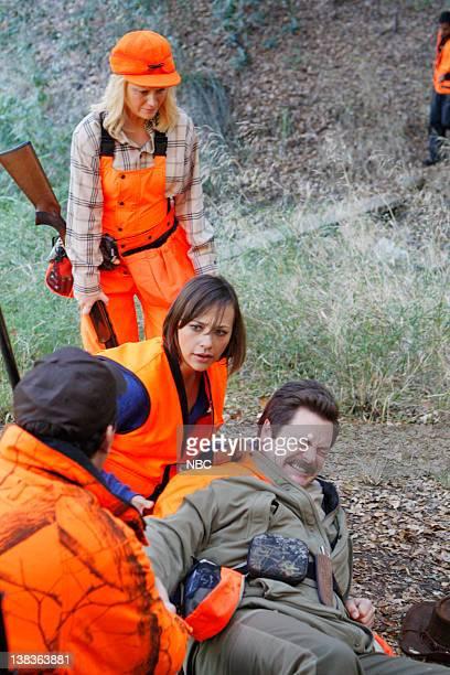 RECREATION Hunting Trip Episode 210 Air Date Pictured Paul Schneider as Mark Brendanawicz Amy Poehler as Leslie Knope Rashida Jones as Ann Perkins...