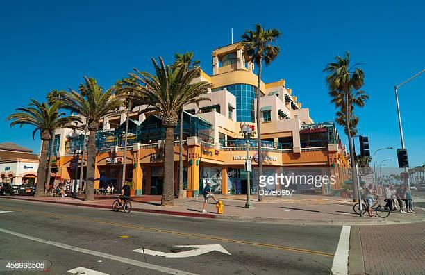 Huntington Beach Downtown Scene