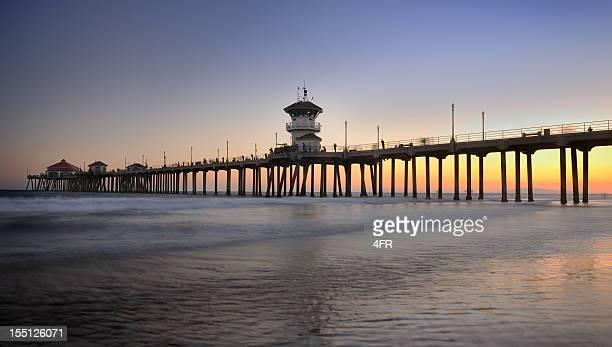 Huntington Beach Pier, California (XXXL)
