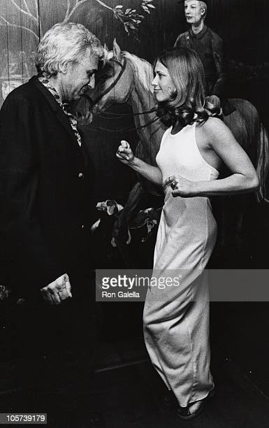 Huntington Hartford and Marilyn Chambers during Marilyn Chambers and Huntington Hartford Sighted at the Show Club June 1 1973 at Show Club in New...