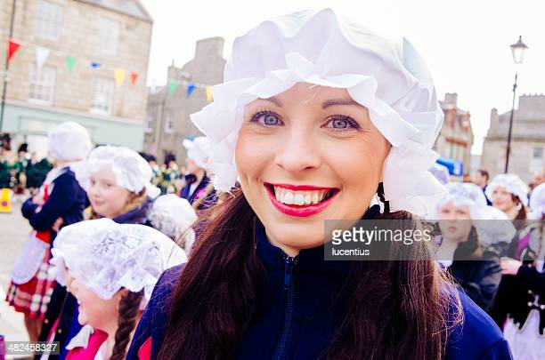 huntly town celebrations - aberdeenshire stock pictures, royalty-free photos & images