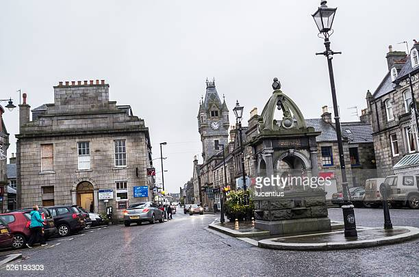 Huntly town square, Scotland