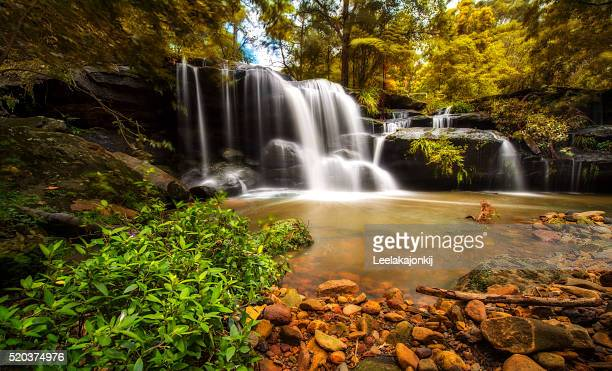 Hunts creek waterfall, Sydney