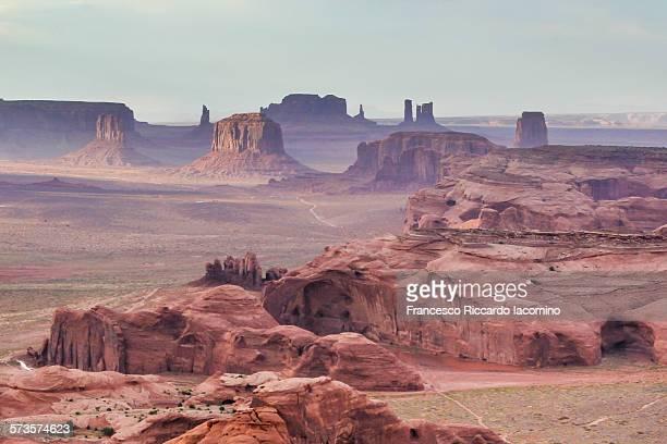 hunt's mesa landscape - francesco riccardo iacomino united states foto e immagini stock