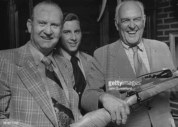SEP 13 1973 SEP 14 1973 Huntsman Gather Prior to Weekend Event Jack Manning handles a 300 magnum rifle made by Weatherby Inc in preparation for...