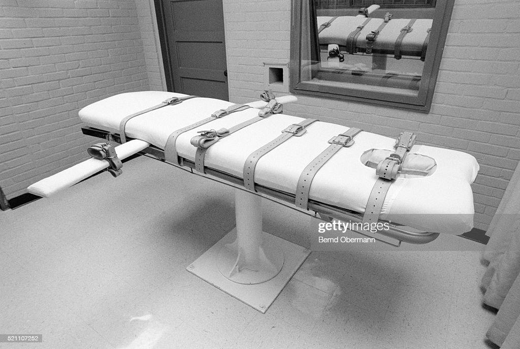 Huntsville Texas USA Death Chamber : Stock Photo