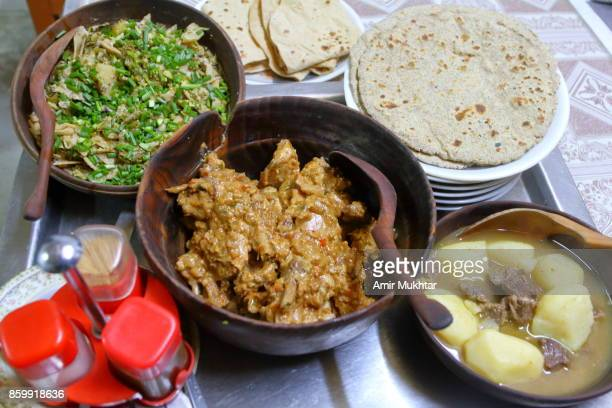 hunza food - hunza valley stock pictures, royalty-free photos & images