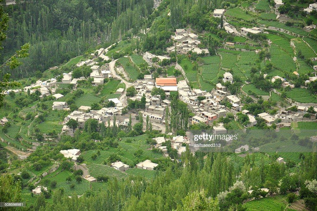 Hunza town : Foto de stock
