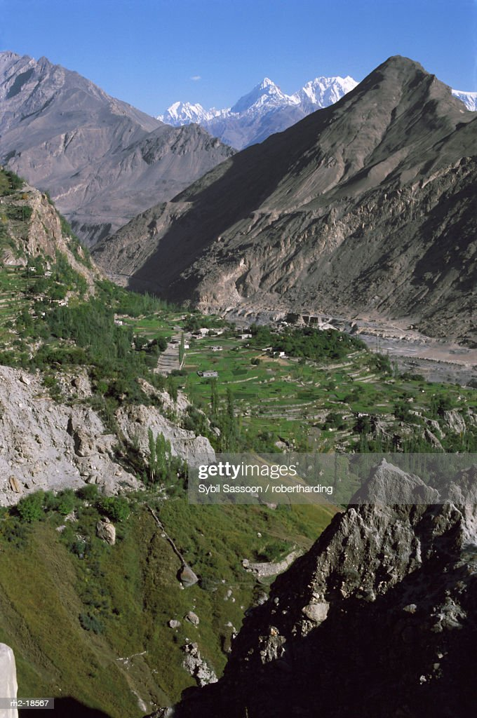 'Hunza Valley, Pakistan, Asia' : Foto de stock