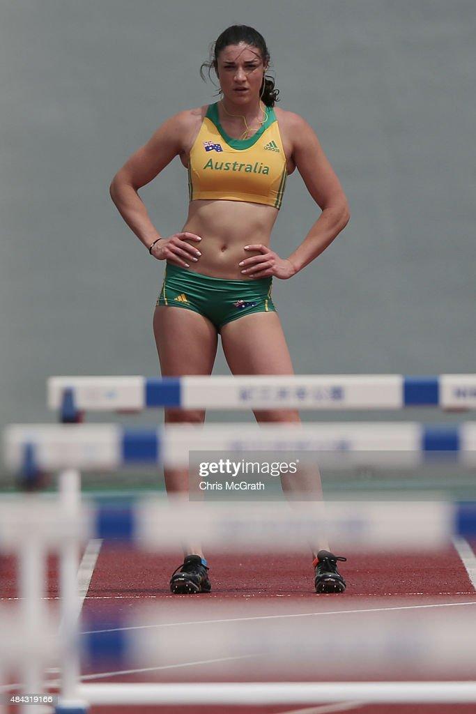 Athletics Australia Team Training Session In Japan