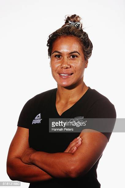 Huriana Manuel poses for a portrait on March 29, 2016 in Mount Maunganui, New Zealand.