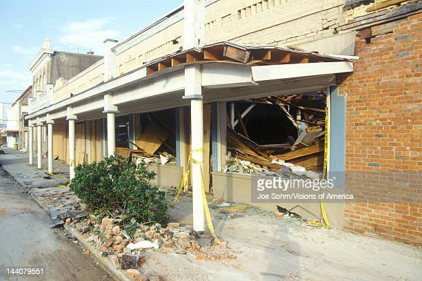 Hurricane Andrew damage Jeanerette LA area National Disaster