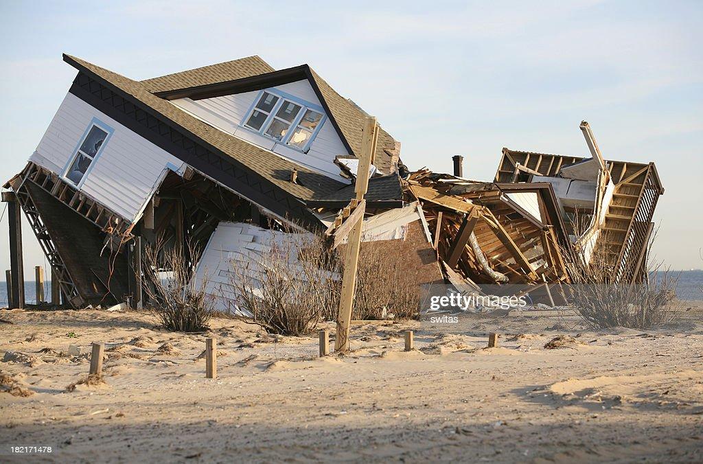 hurricane damage : Stock Photo