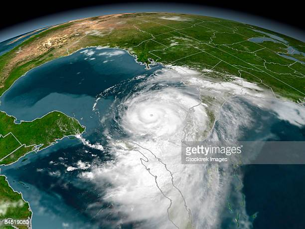 hurricane dennis - gulf of mexico stock pictures, royalty-free photos & images