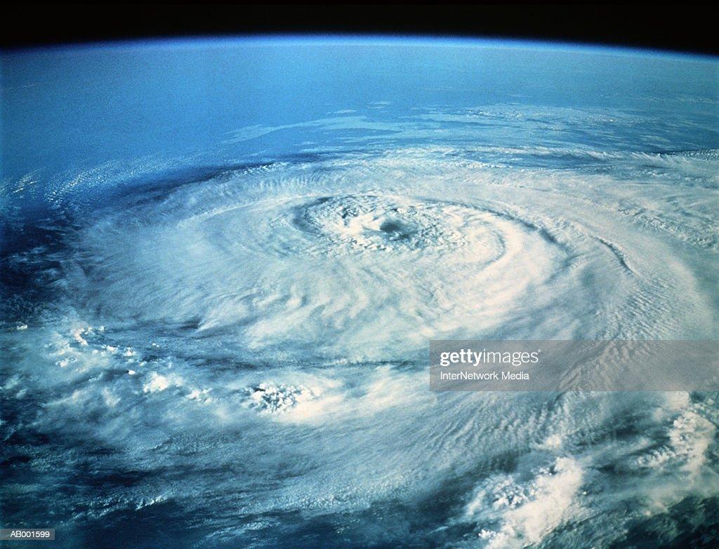 Hurricane Elena in the Gulf of Mexico : Stockfoto