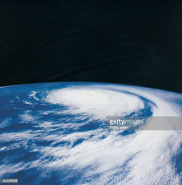A hurricane in the Pacific Ocean