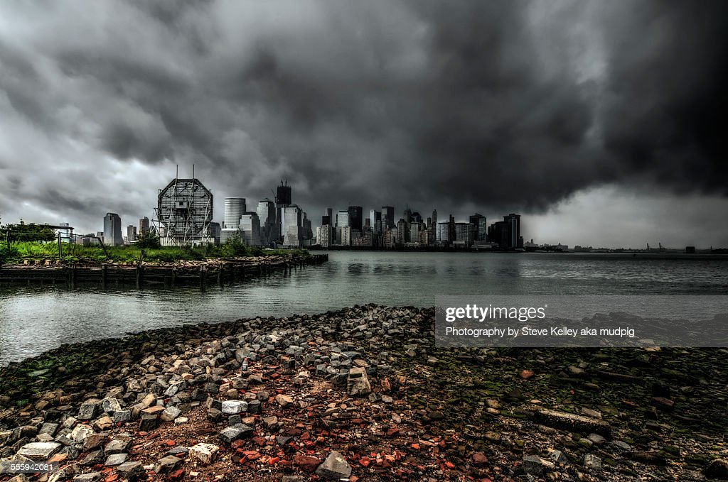 Hurricane Irene : Stock Photo