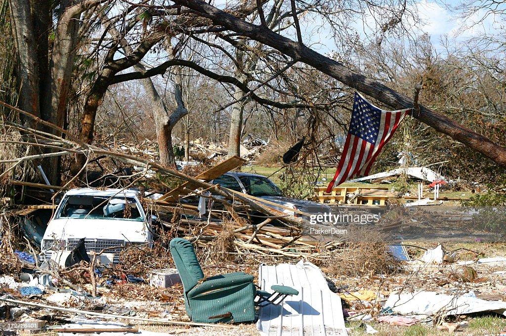 Hurricane Katrina : Stock Photo