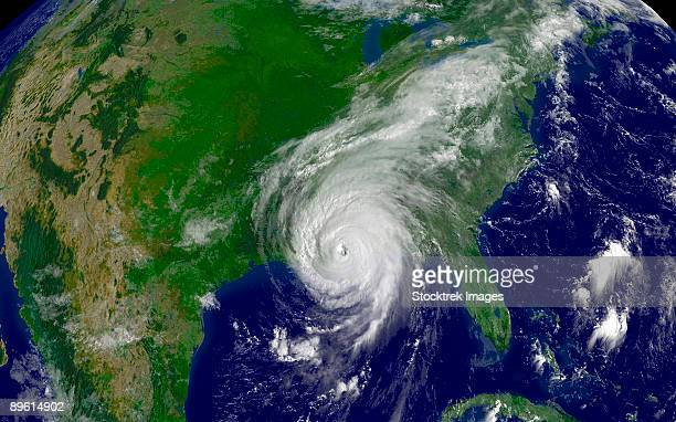 hurricane katrina regional imagery. - hurricane katrina stock pictures, royalty-free photos & images