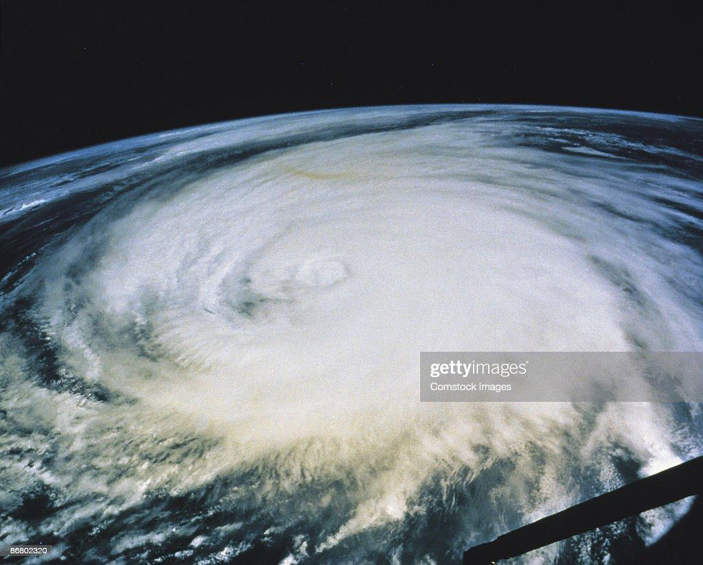 Hurricane Luis : Stock Photo