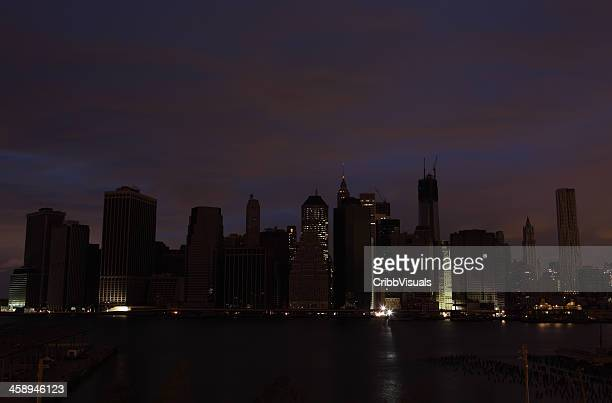 Hurricane Sandy Manhattan blackout second night