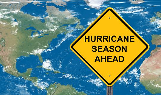 Hurricane Season Warning Sign 1016602922