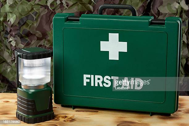 hurricane survival kit - first aid kit stock pictures, royalty-free photos & images