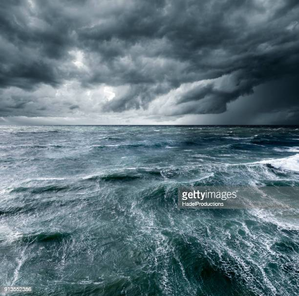 hurricane warning - gale stock photos and pictures
