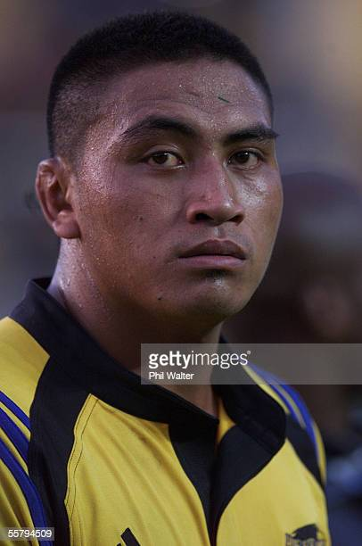 Hurricanes Jerry Collins in their Super 12 Rugby match played against the Bulls at the WestpacTrust Stadium in Wellington Saturday The Hurricanes won...